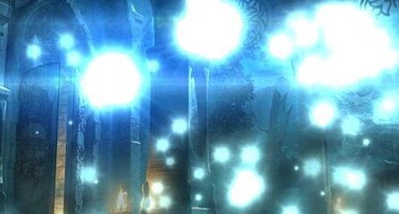 Sparks at Night